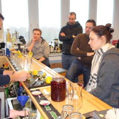 Chef de bar - Master of Bartending IBA März 2015