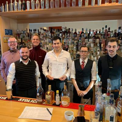 Manager of Bar Business, Master of Bartending Okt. / Nov. 2019
